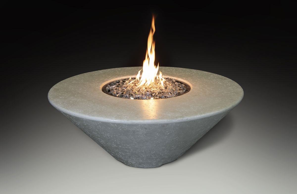 Fire Table Round Bone